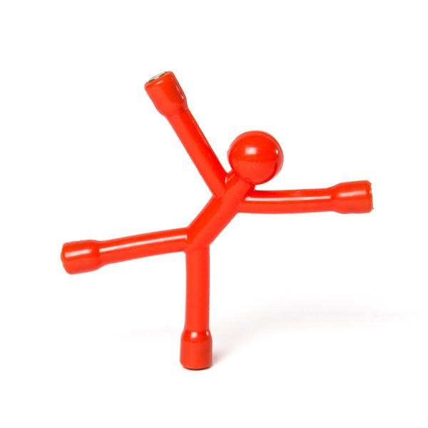 magnet figur flexman m nnchen flexibel figur magnet k hlschrank viele farben ebay. Black Bedroom Furniture Sets. Home Design Ideas
